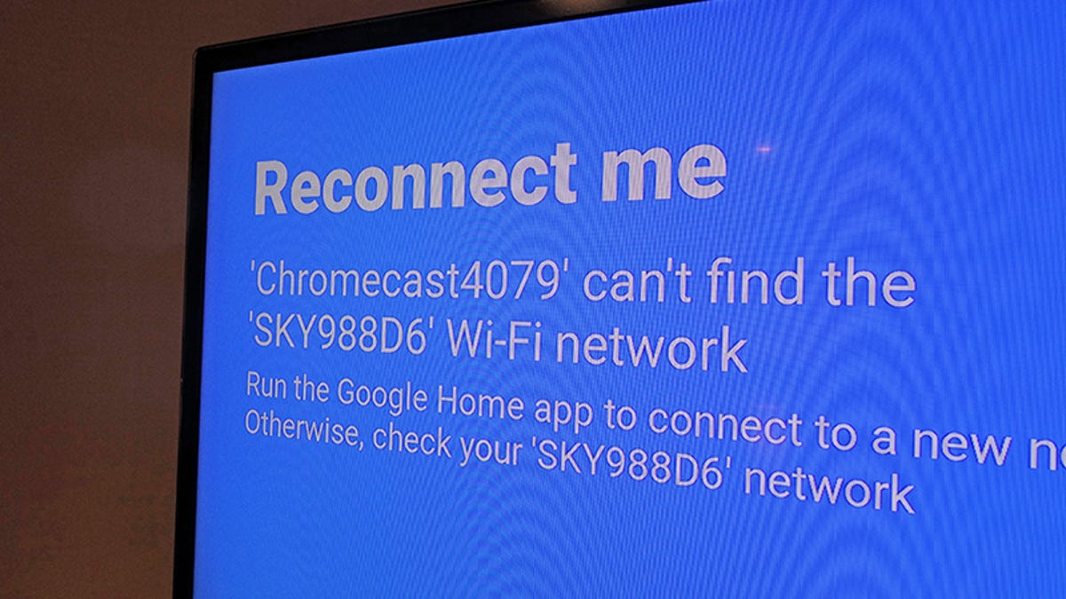 connect chromecast to mobile hotspot