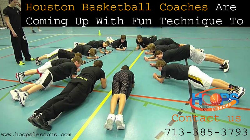 Illustration for article titled Houston Basketball Coaches Are Coming Up With Fun Technique To Learn About Basketball