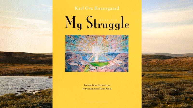 Illustration for article titled After soaring for 5 volumes, Knausgaard brings My Struggle in for a rough landing
