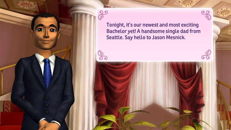 Illustration for article titled The Bachelor video game simulates the most miserable parts of dating