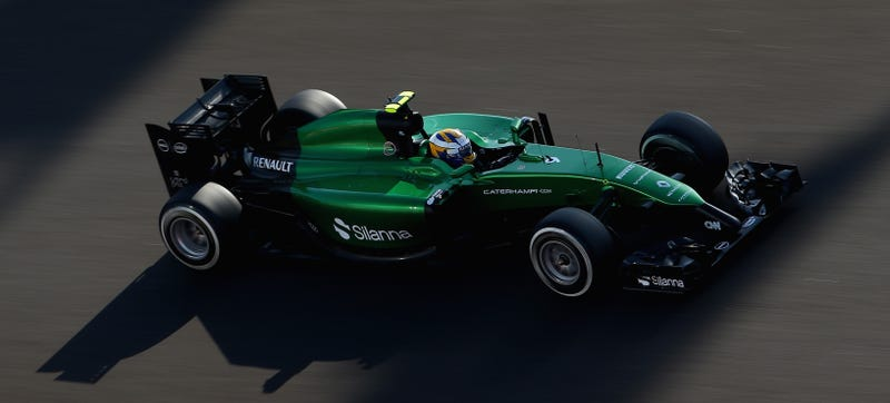 Illustration for article titled Success! Caterham Will Race At Abu Dhabi After All