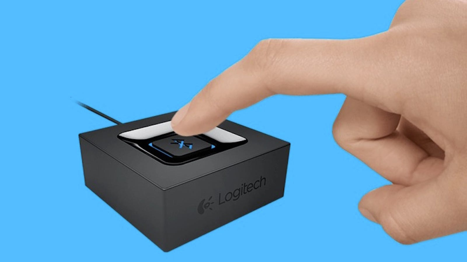 Logitechs Bluetooth Audio Adapter Turns Any Pair Of Speakers Into Wiring Outdoor With Volume Control Wireless Ones