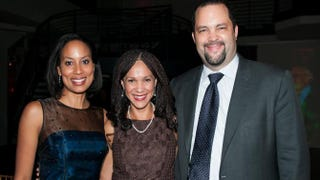 The Root 100 honorees Melissa Harris-Perry, Ben Jealous and Jealous' wife, Lia Epperson, at The Root 100 Gala Thursday night in NYC