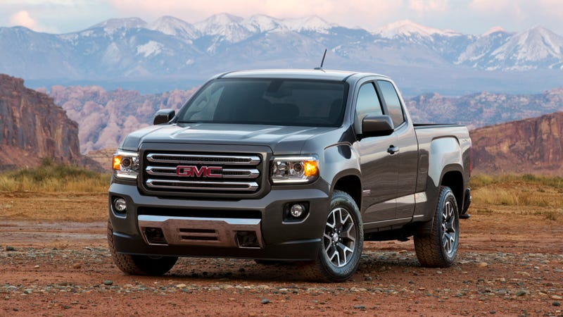 Illustration for article titled 2015 GMC Canyon: This Is It