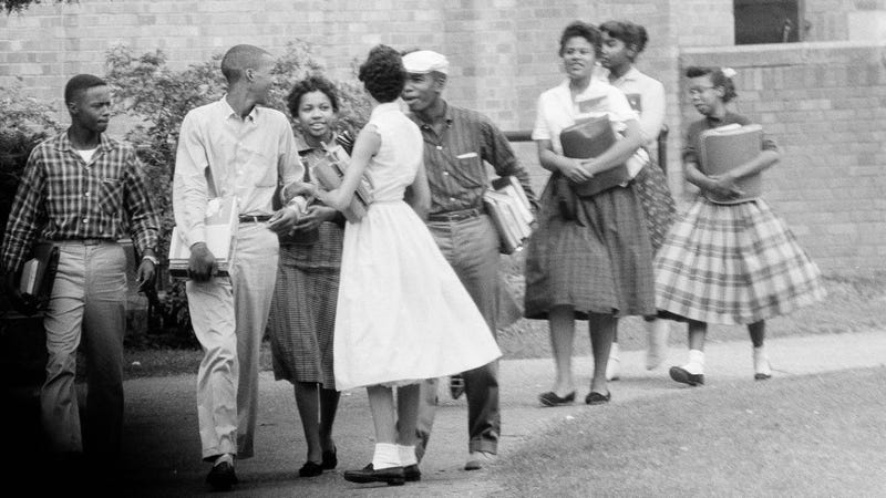 Illustration for article titled On This Day, The Little Rock Nine Started School