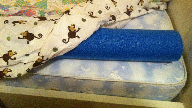 Keep Kids From Falling Out Of Bed With Pool Noodles