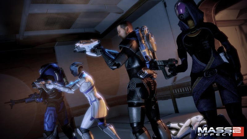 Illustration for article titled Mass Effect 2 Enters The Lair Of The Shadow Broker