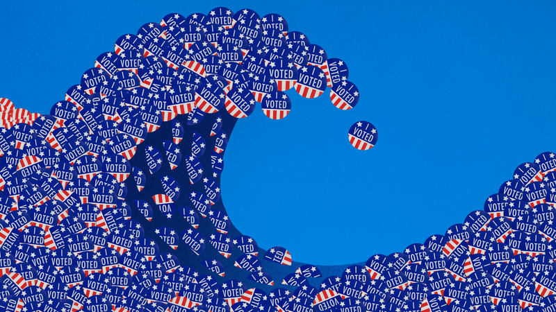 Illustration for article titled MAY THE BLUE WAVE DESTROY US ALL: Splinter's Big Fat Midterm Elections Live Blog