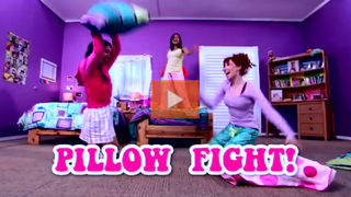 Illustration for article titled This Week's Top Web Comedy Video: Sorority Pillow Fight