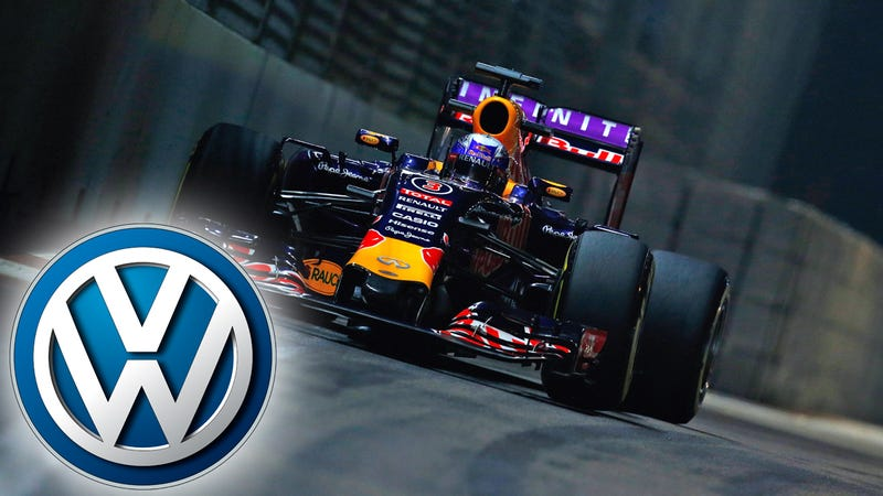 Illustration for article titled Volkswagen Close To Purchasing Red Bull Formula One Team: Report