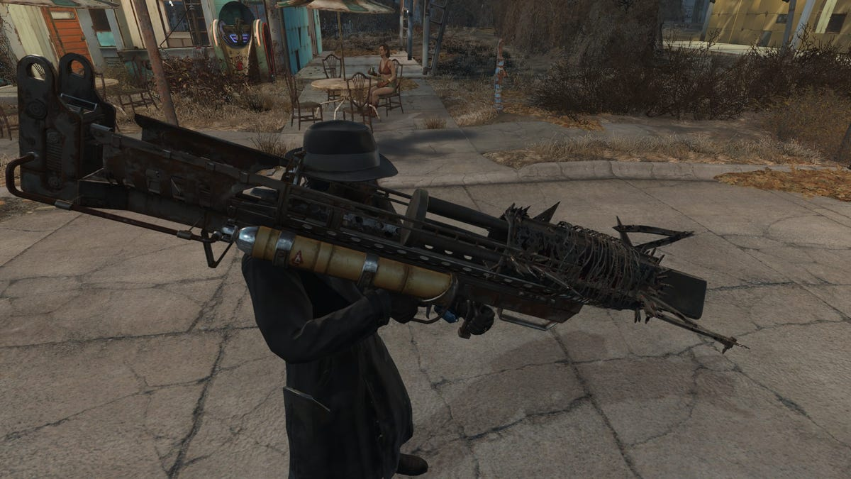 Fallout 4 Weapons Mod Is Absolutely Bonkers
