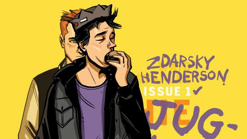 Illustration for article titled Chip Zdarsky and Erica Henderson think Jughead's dream date is himself (plus food)