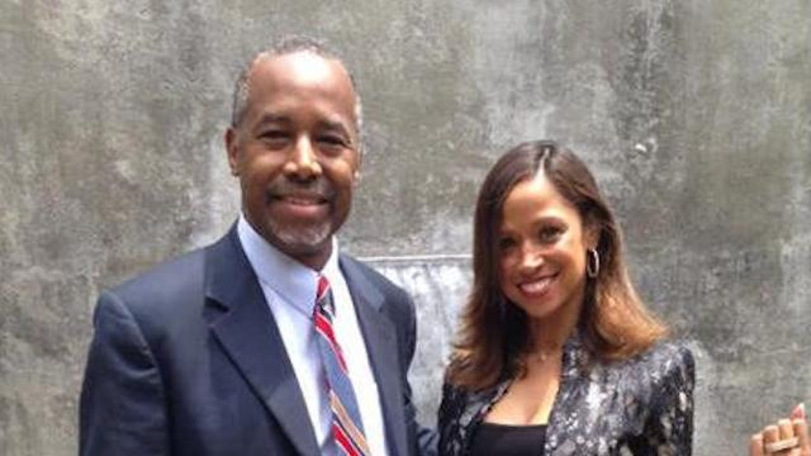 Image result for ben carson and stacey dash