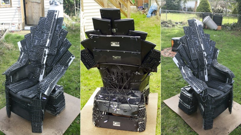 A Game Of Thrones Chair Fit For The King Of Pc Gamers