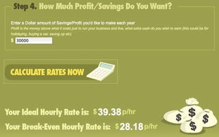 Illustration for article titled Hourly Rate Calculator Helps You Determine What to Charge