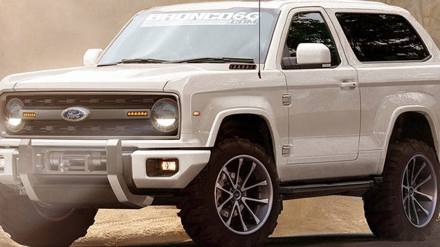Even More Pics Of What The New Ford Bronco Could Maybe