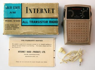 """Illustration for article titled Sadly This 1969 """"Internet"""" Radio Can't Load Doge"""