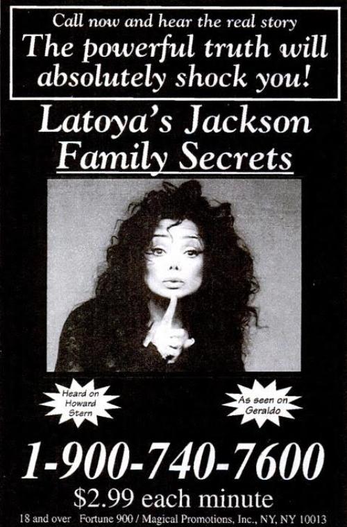 La Toya Jackson'