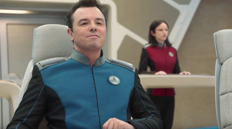 Seth MacFarlane leads The Orville. Image: Fox