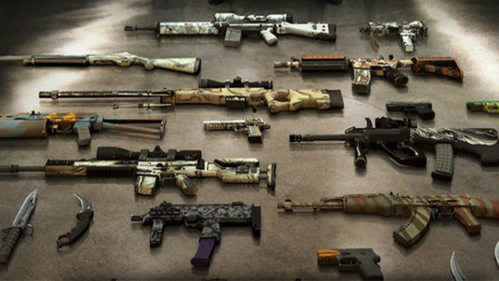 Counter Strike Gun Skins