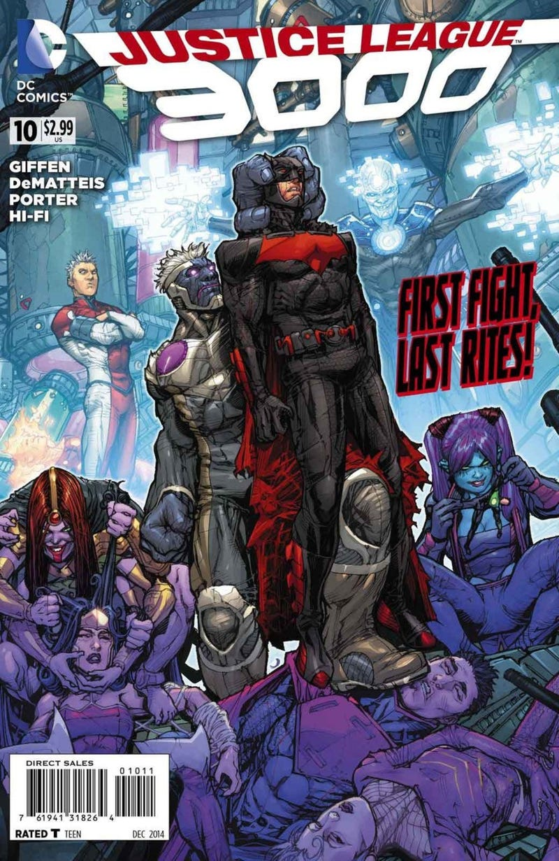 Illustration for article titled Justice League 3000 has wrapped up its first arc...