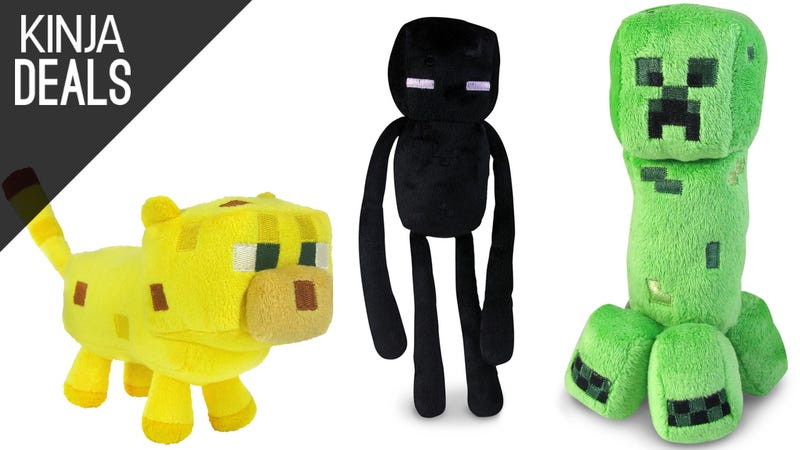 Illustration for article titled Build a Menagerie of Minecraft Plushies For $3-$4 Each