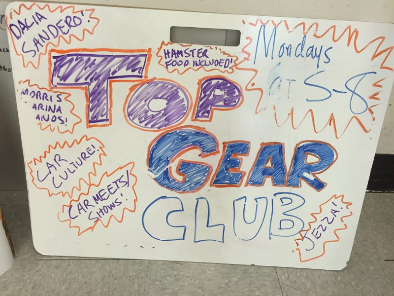 Illustration for article titled My Top Gear Club Recruitment Board