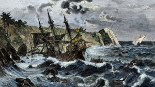 Illustration for article titled Christopher Columbus's Flagship, The Santa Maria, Has Been Found