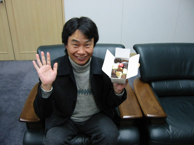 Illustration for article titled Shigeru Miyamoto, Broken Record