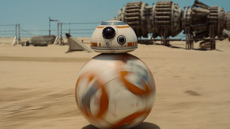 Illustration for article titled Disney and Sphero to satisfy your desperate need to get a BB-8 for Christmas