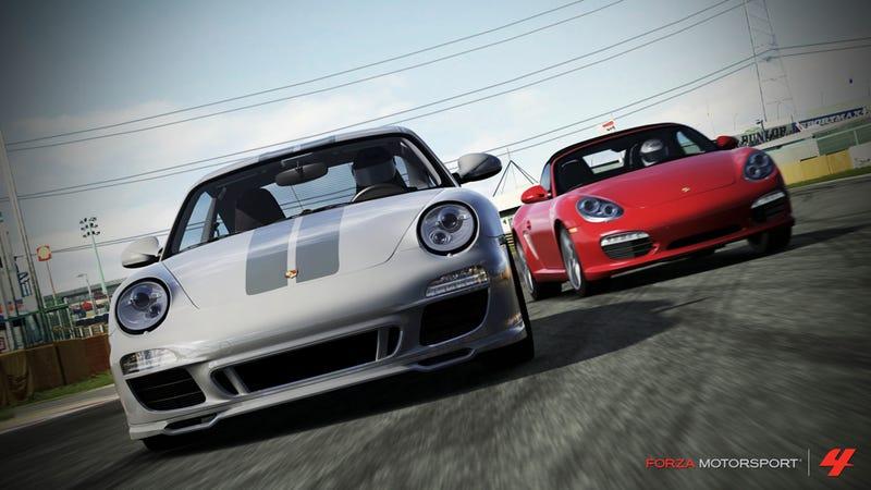 Illustration for article titled Forza Motorsport 4 Inks Deal For Porsche Expansion Pack