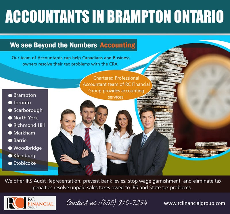 Illustration for article titled Accountants in   Brampton Ontario | 8559107234 | rcfinancialgroup.com