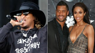 Rapper Future; Russell Wilson and CiaraTrevor Collens/Getty Images; Frederick M. Brown/Getty Images