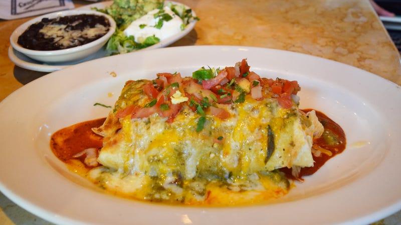 Cheesecake Factory's Breakfast Burrito