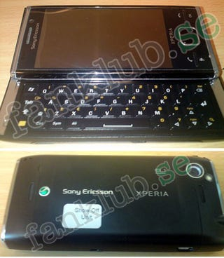 Illustration for article titled Sony Ericsson Xperia X2 Specs Leaked and Laid Bare
