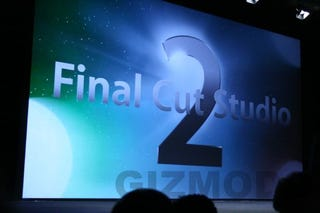 Illustration for article titled Apple Intros Final Cut Studio 2