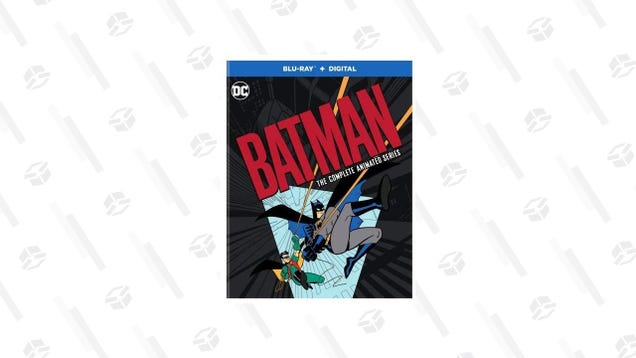 Quick, Robin! Pick up Batman: The Complete Animated Series for Its Lowest Price Ever