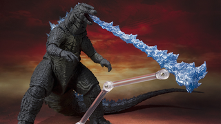 Illustration for article titled This Godzilla Toy's Fire Breath Is So Badass, It Needs Its Own Stand