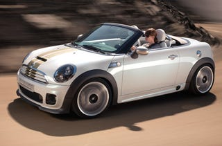 Illustration for article titled MINI Roadster Concept Ready For Large Packages In Rear