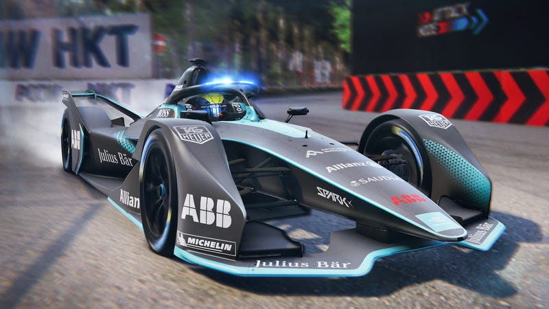 Illustration for article titled Formula E's New App Lets You Ghost Race Against Drivers in Real Time