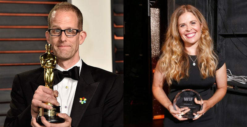 Illustration for article titled Jennifer Lee and Pete Docter Will Replace John Lasseter as Disney and Pixar's New Heads