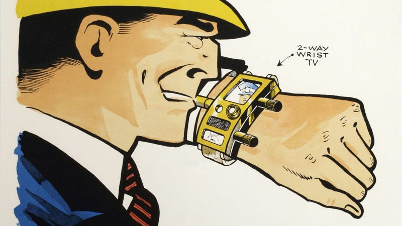 Illustration for article titled The Fantastic Wrist Gadgets That Came Way Before the Smartwatch