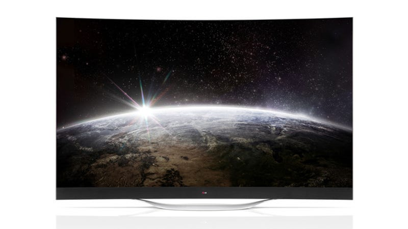 Illustration for article titled LG's Giant Curved 4K OLED TVs Will Explode Your Mind