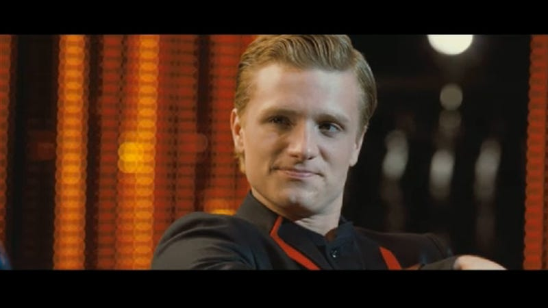 Illustration for article titled New Hunger Games Clip: Peeta Admits He's Got a Crush on Katniss