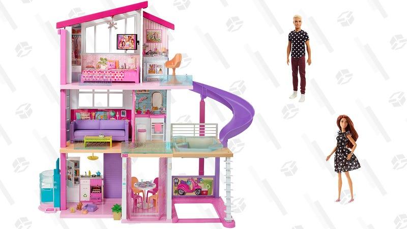 Barbie DreamHouse and Fashionista Dolls | $169 | Walmart