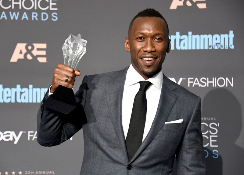 Mahershala Ali, winner of the Critics' Choice Award for Best Supporting Actor for his role in Moonlight, poses in the press room  Dec. 11, 2016.  Frazer Harrison/Getty Images