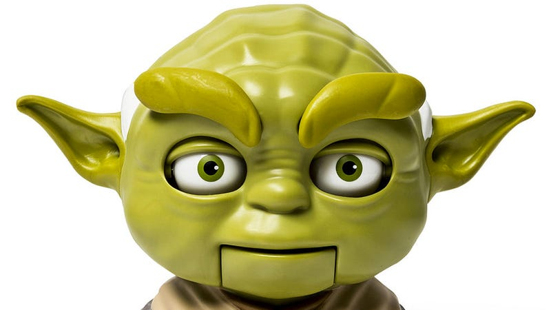 Illustration for article titled Stare This Talking Yoda In the Eyes and You'll Never Be Able To Look Away