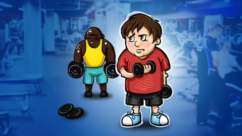 Illustration for article titled How to Start Exercising When You're Already Overweight