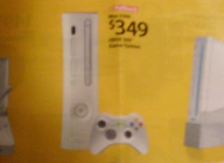 Illustration for article titled Walmart Ad Has Xbox 360 Price Drop Coming August 8th?