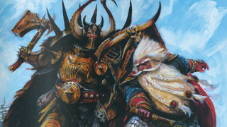 Illustration for article titled The 9 Most Ridiculous Badasses of the Warhammer Fantasy Game